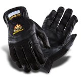 厚皮 PRO LEATHER BLACK GLOVE