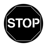 Apollo Stop Sign ME-2530