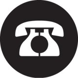 GONG 25017 ROTARY DIAL TELEPHONE