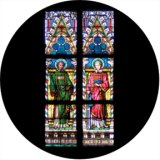 86672 Liturgical Stained Glass