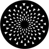 79038 (DHA# 99038) Radial Triangles