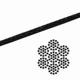 ワイヤロープ・黒・3.0mm幅 x 100m(長さ)